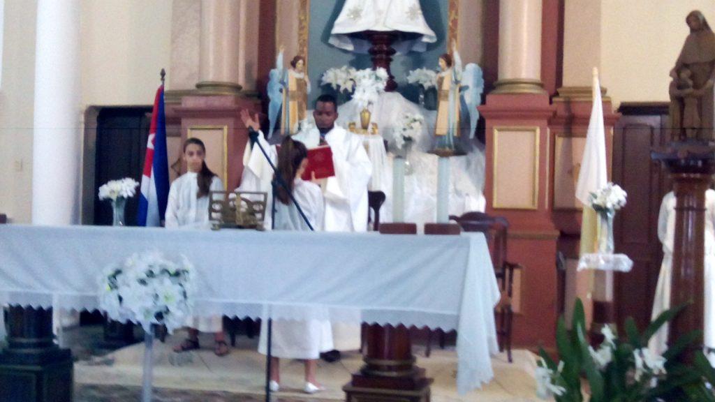 Celebración del inicio de Bicentenario en Mantua Cuba