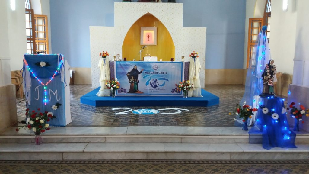 A CELEBRATION OF FAITH OF ST.CLAUDINE THEVENET, Sangamner, Pune, INDIA