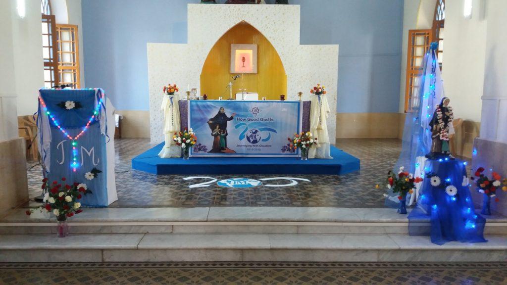 A CELEBRATION OF FAITH OF ST.CLAUDINE THEVENET, Sangamner, Pune, INDIA