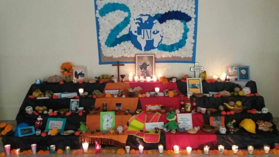 Celebración del día de muertos México