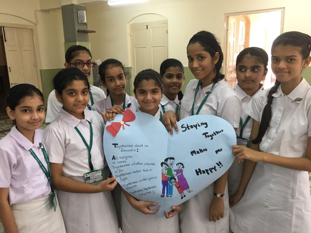 Activities based on faith, forgiveness and communion by St. Annes, Mumbai, India