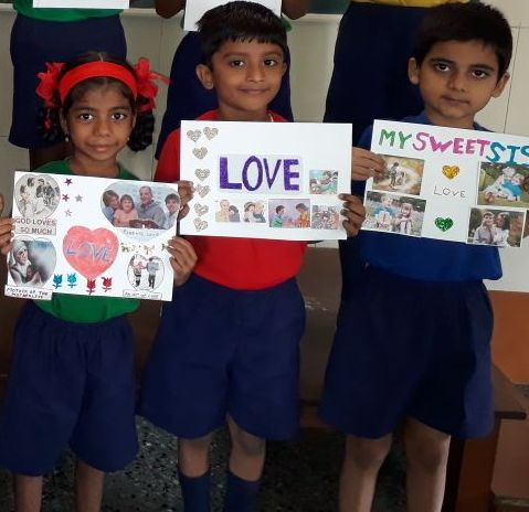 JM Day celebrations at Convent of Jesus and Mary High School, Palle, Mumbai, INDIA